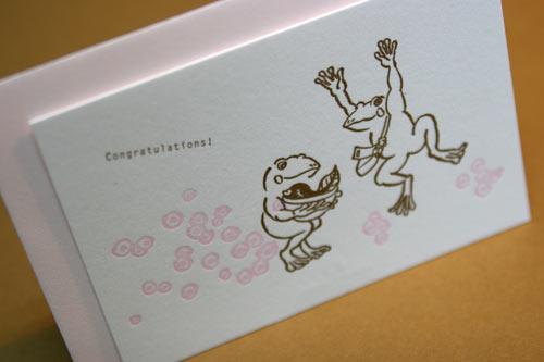 赤ちゃん誕生カード