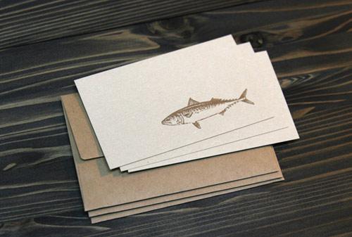 サバのカード