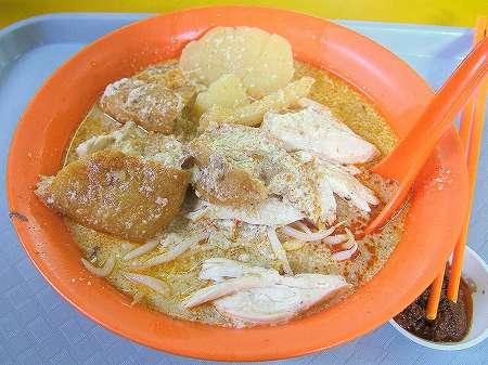 大坡海南鶏飯・咖哩鶏麺の咖哩鶏麺