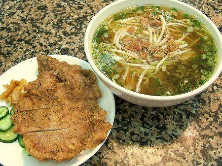 東一排骨總店の排骨麺