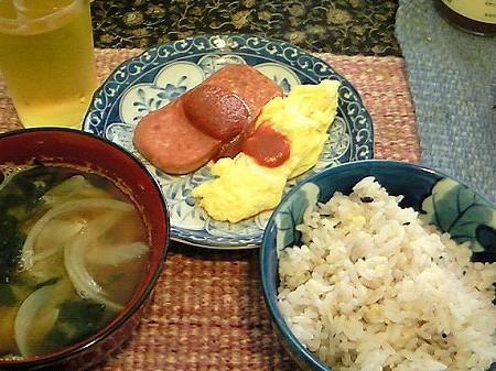 沖縄な朝食