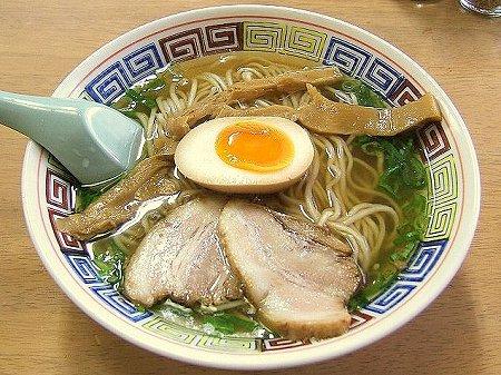 長尾中華そば・浜田店の鶏(小)