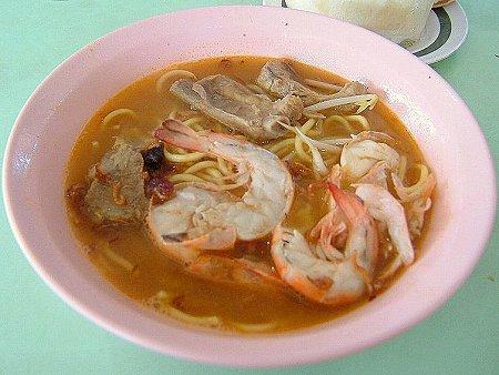 威利大蝦麺の大蝦肉骨麺