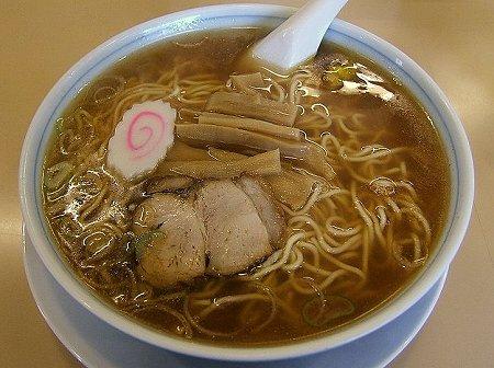 大勝軒の中華麺