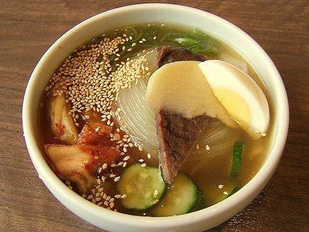 さんか亭のハーフ冷麺
