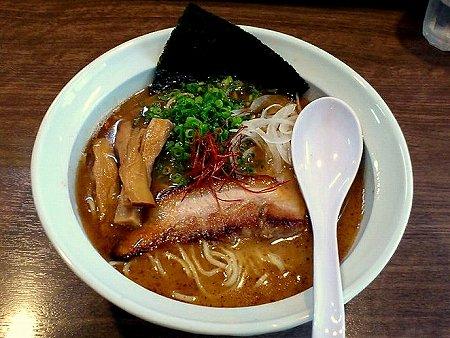 我流麺舞 飛燕の勝男(鰹)正油NV.1