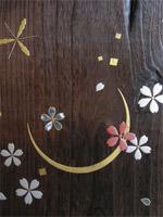 月と桜(螺鈿あり)、雪の結晶