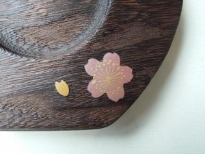 桜の蒔絵 ピンク