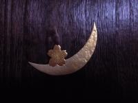 月に桜 本金蒔絵