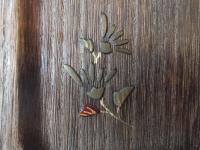 小菊の蒔絵