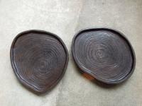 天然盆 木口(小)