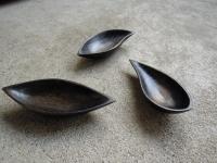 拭き漆豆皿