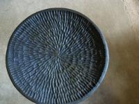 拭き漆 桐皿