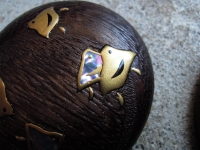 千鳥 金と貝 蒔絵