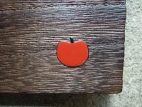 ちょこっとトレー 赤りんご蒔絵
