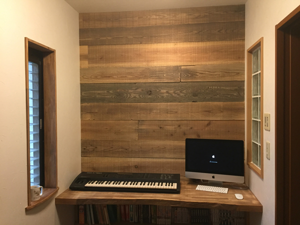 Barn Wood iMac YAMAHA V50