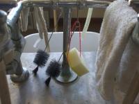 試験管洗い