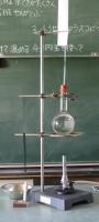 水の膨張の実験準備