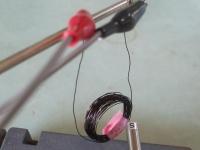 空芯コイルで実験