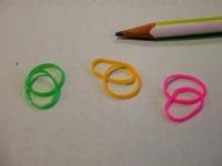 100均のカラー輪ゴム