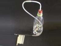 炭酸水から二酸化炭素を取り出す
