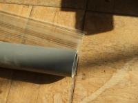ガラス管材料の置き場