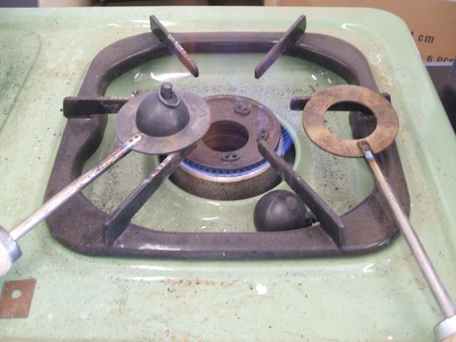 金属膨張試験器を直す