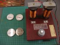 方位磁針のメンテナンス