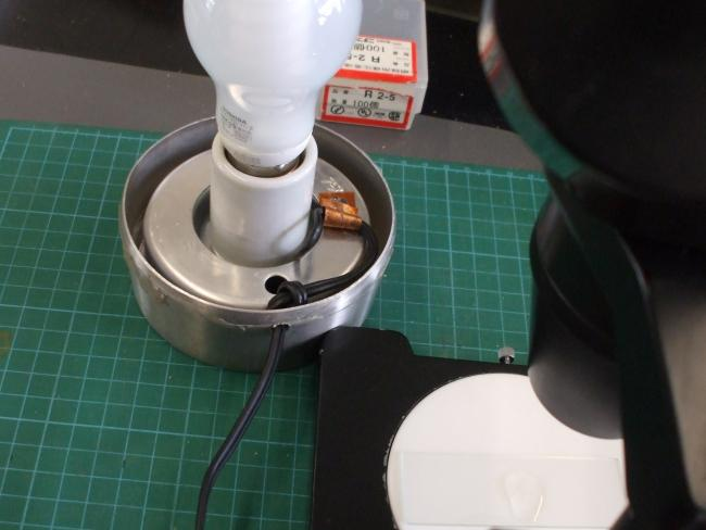 準備室用顕微鏡光源