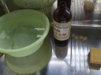 石灰水の試験管