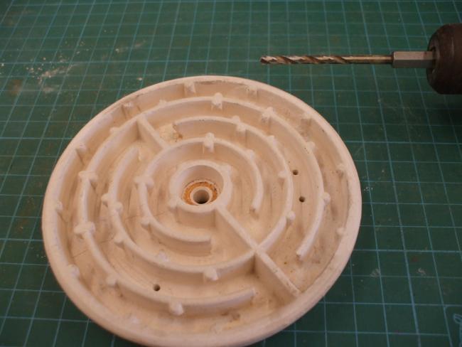 電熱器の熱板のメンテ「電熱器の修理」