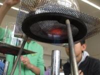 水の沸騰の観察