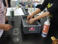 窒素と二酸化炭素