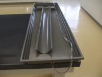 流れる水の働き実験器