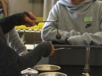 金属の膨張実験