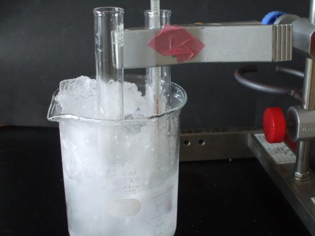 寒剤の予備実験