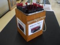 ミノムシクリップコードの収納箱