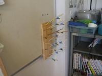 サナギが教室へ