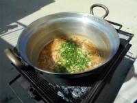 味噌煮込みうどん作り