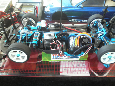 TA05 センサー付ブラシレス搭載