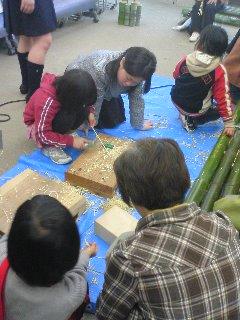 箸作り体験