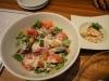 シーザースサラダとポテトサラダ