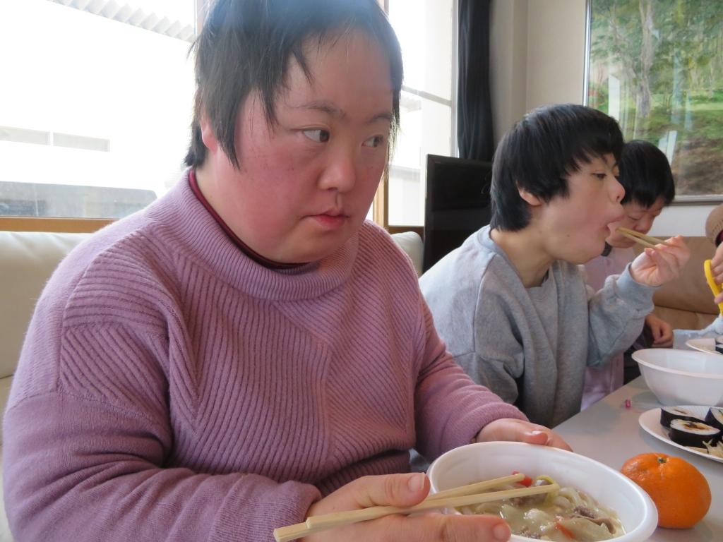 みんなで寿司パーティーその2