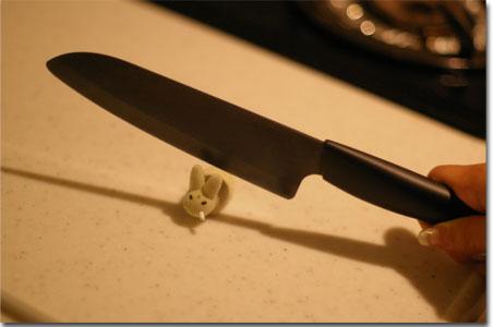 ブラック(黒い)セラミックナイフ