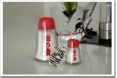 味の素マーク瓶/マーク・ニューソン