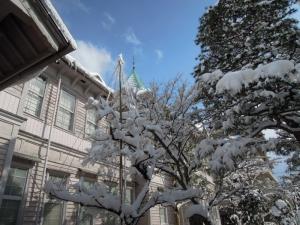 金沢くらしの博物館 冬