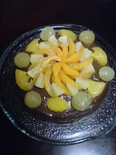 ヴィーガンスィーツ:チョコレートケーキ