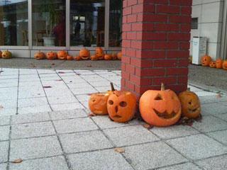 かぼちゃランタン。