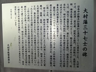 37士の説明板