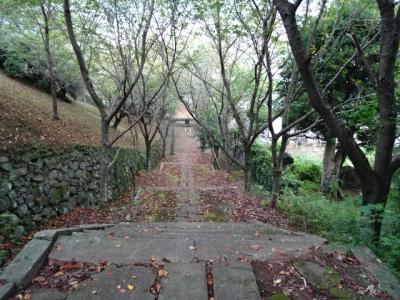 神社の階段�